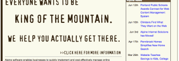 """""""Brown Mountain"""" Site Launched"""